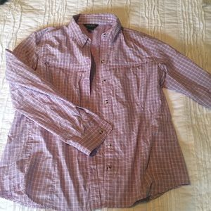 Purple Eddie Bauer Button Down